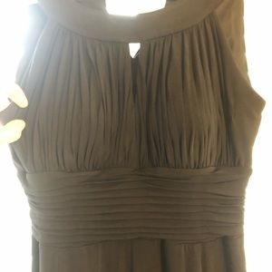 Polyester dress from Macy's.